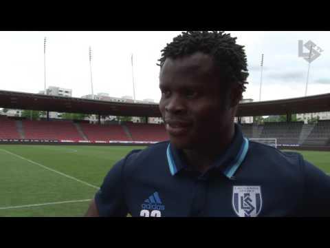 LSTV: Grasshopper Club Zurich - Lausanne-Sport, interview d'après-match de Taye Taiwo
