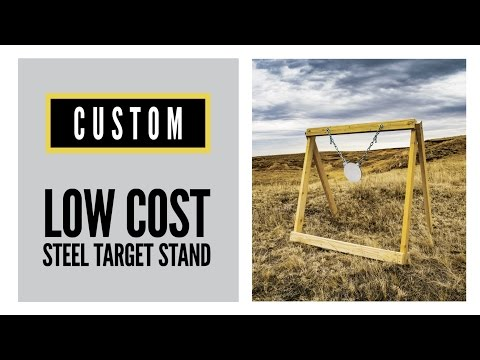 Low-Cost DIY Steel-Target Stand | Cabela's Shooting Park