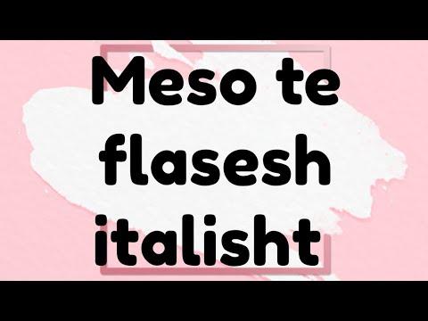 Gjuha Italiane nr 92 .Do te jem ne gjendje te mesoj italisht?