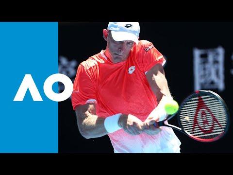 Kevin Anderson v Adrian Mannarino match highlights (1R)   Australian Open 2019