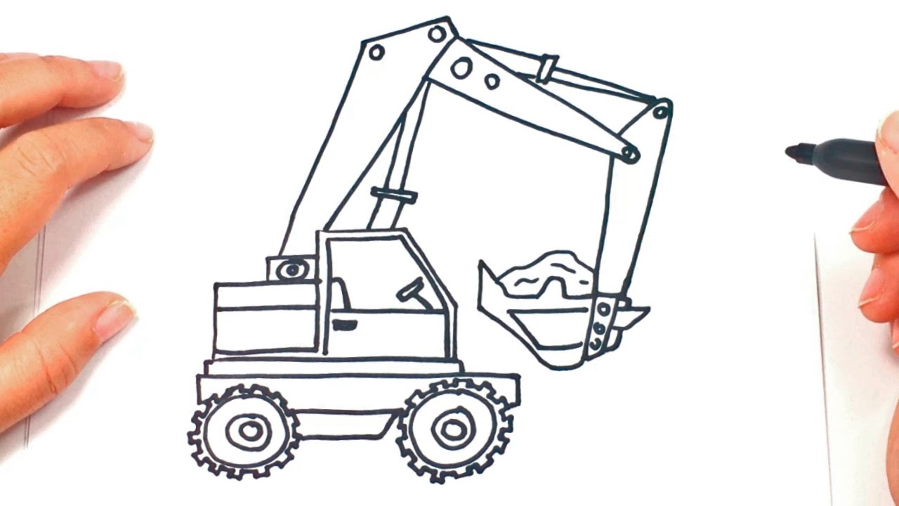 small resolution of how to draw a crane crane easy draw tutorial