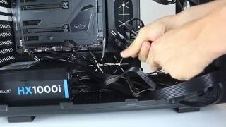 build an insane gaming machine psu cable connections 9 9