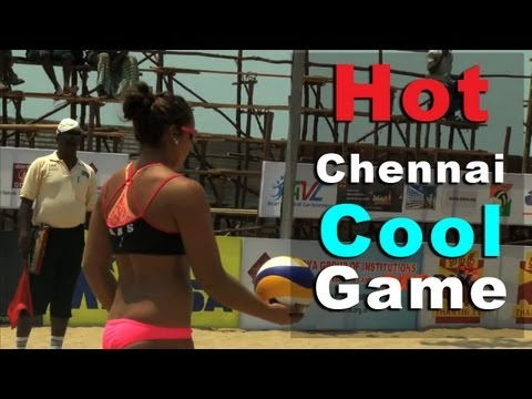 Hot Chennai Cool Game - Asia Pacific Beach Volleyball - chennai