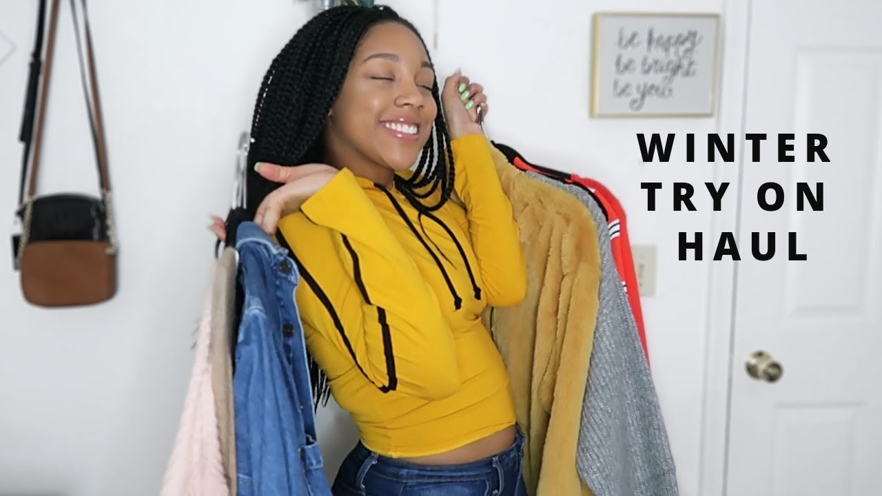 WINTER CLOTHING HAUL | Cute + Affordable 8