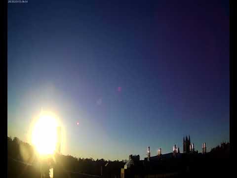 BC Gasson Sky Camera 2017-12-14: Boston College
