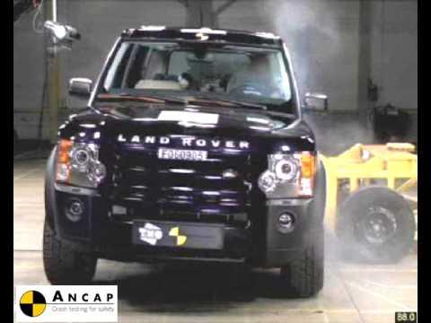 Land Rover Discovery 3 2006 Ancap Crash Test 4 Stars