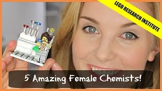 5 Amazing Female Scientists - The Chemist (Lego Research Institute)