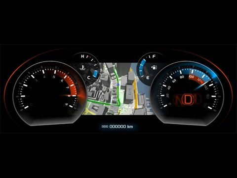 5 Upgrades For Your Old Car With New Car Tech Digital Instrument Cluster Youtube