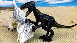 ЛЕГО МУЛЬТИКИ 🦖 Динозавры Юрского Периода 🔵 LEGO Jurassic world