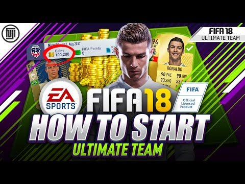HOW TO START FIFA 18 ULTIMATE TEAM! 100% EASY COINS! TRADING TIPS! - FIFA 18 Ultimate Team