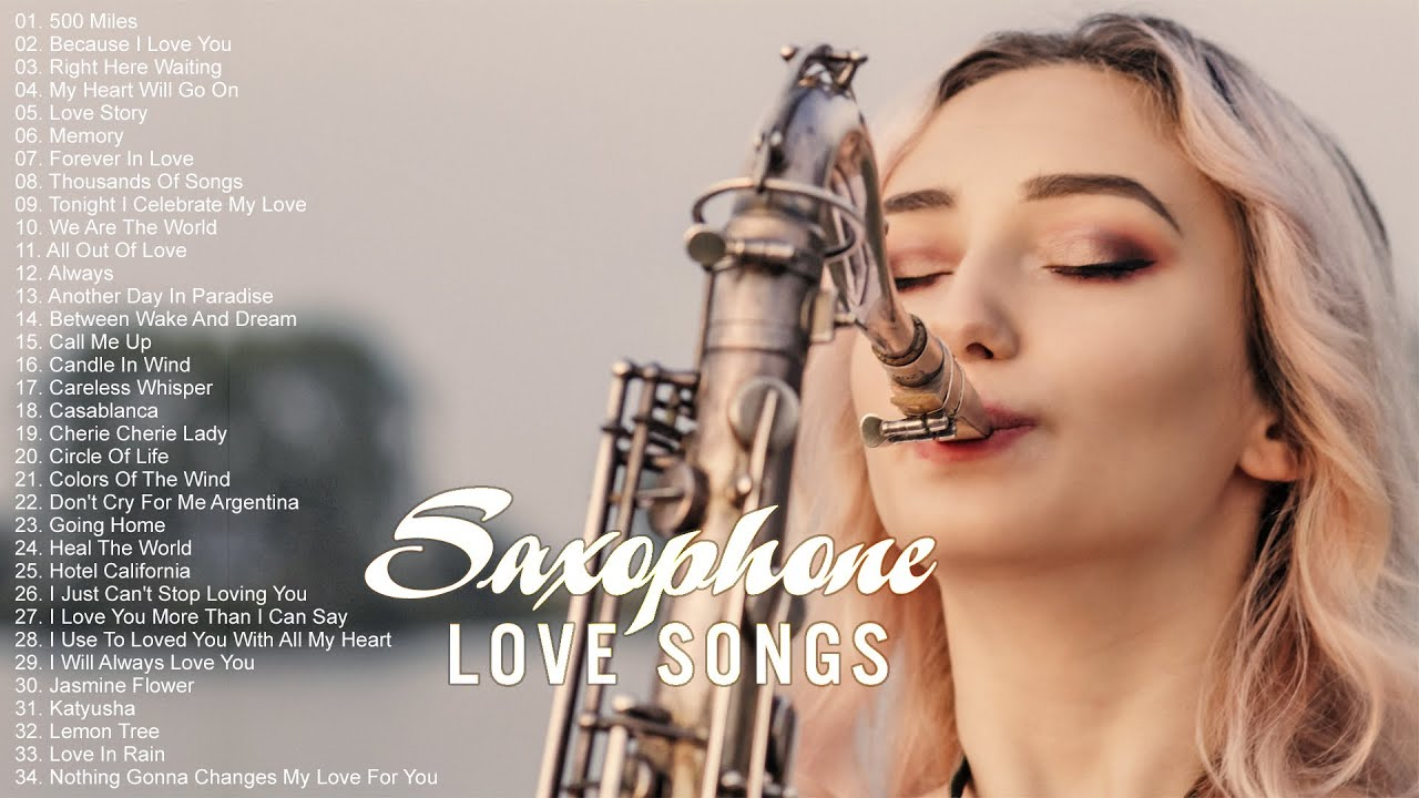 Greatest 200 Romantic Saxophone Love Songs Best Relaxing Saxophone Songs Ever Instrumental Music Youtube