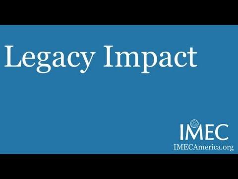 IMEC America Legacy Impact: The power of philanthropy