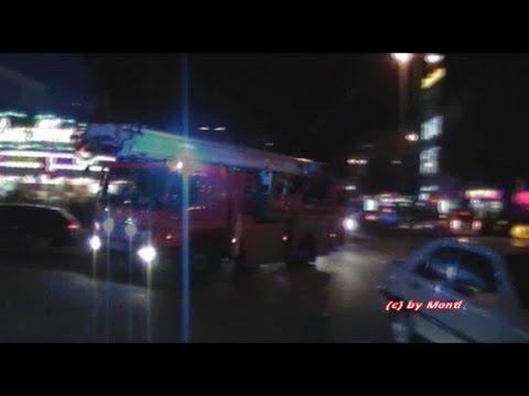 Feuer im Puff// Erweiteter Löschzug BF Hamburg F12/F13 + FuStW Polizei Hamburg aufm Kiez
