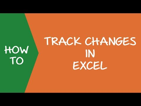 How to Enable and Use Track Changes in Excel