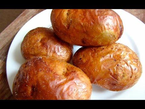 Как быстро почистить картофель в мундире