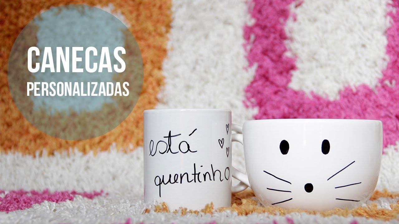 Well-known DIY - Como Personalizar Canecas - YouTube KY73