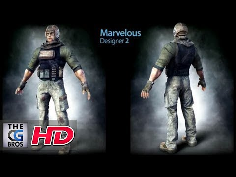 "CGI 3D Clothes Making Demo : Using ""Marvelous Designer 2"""