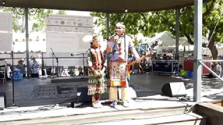 SF INDIAN MARKET SWAIA 2019 - STORY OF TRICKSTER -TONY DUNCAN & FAMILY – Dancers