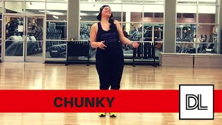 Chunky by Bruno Mars || Easy, original routine for dance fitness, hip hop, or zumba class