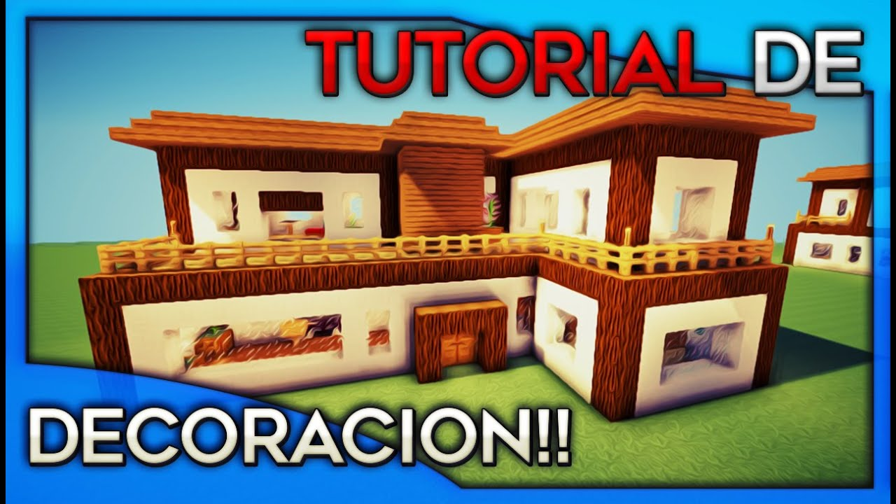 Como decorar tu casa en minecraft casa numero 2 youtube for Como de corar una casa