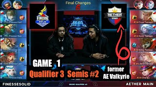 Game1 FNs Solid VS AE Main MPL-PH S2 (Qualifier 3 Semifinals 2) Best of 3