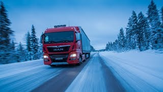 Euro Truck 2 - WINTER MOD - MultiPlayer - chillowy stream - Na żywo