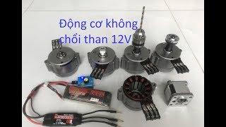 động cơ không chổi than 12V - motor brushless 12V 4000 vòng
