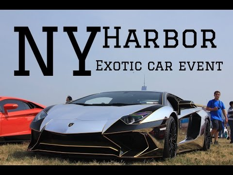 NY Harbor Exotic Car Event