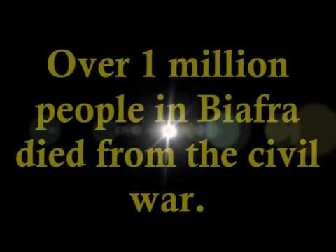 Nigerian Civil War - the Biafran Genocide