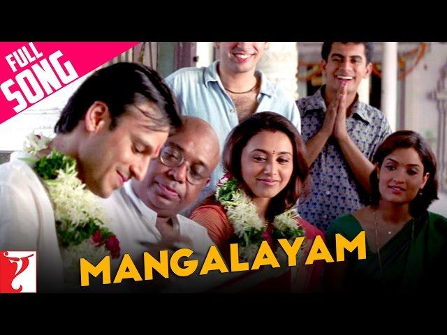 Mangalayam - Full Song | Saathiya | Vivek Oberoi | Rani Mukerji | KK | Shaan | Kunal | Sreenivas