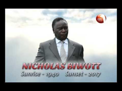 Former Cabinet Minister Nicholas Biwott dies