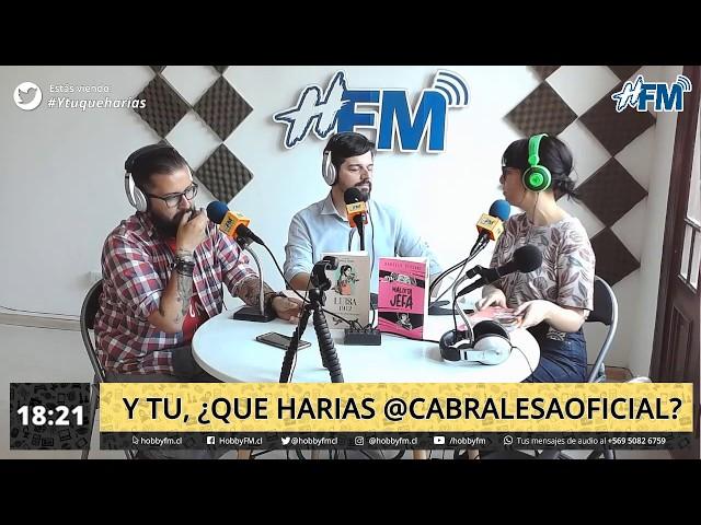 Y tu ¿que harías @cabralesaoficial? - 03 de diciembre 2019
