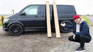 UNBOXING NEW CAR PARTS | VW T6 MODS!!