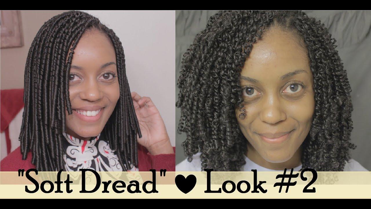 Crochet Braids Soft Dread : 34} Soft Dread Crochet Braids Look #2 - YouTube