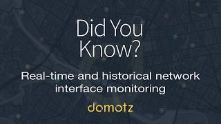 Did You Know? - Real-time and historical network interface monitoring