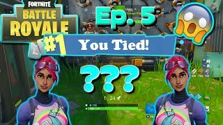 CAN YOU TIE IN FORTNITE?!?! // TRAP KILLING EACH OTHER AT THE SAME TIME // CAN YOU TIE EPISODE 5