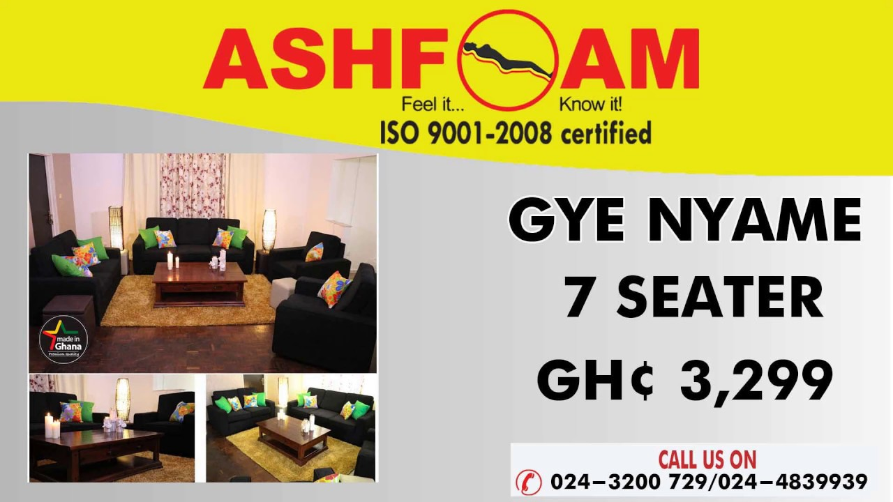 Ashfoam ghana product video