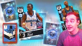 NBA 2K17 My Team 3 NEW DIAMONDS! DIAMOND CHRIS PAUL IS HOME!