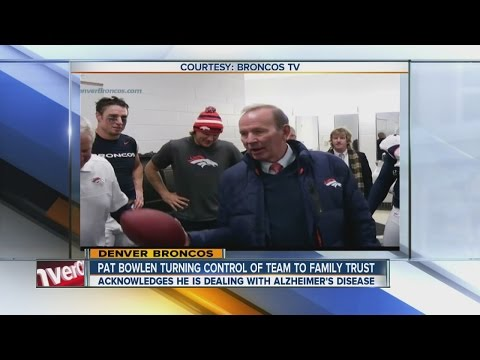 Broncos owner Pat Bowlen coping with Alzheimer