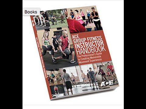 How I Passed The ACE Group Fitness Instructor Exam - YouTube