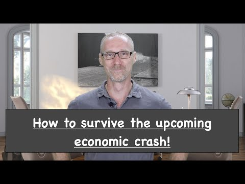 How to survive and thrive with the upcoming recession, economic crash or depression!!