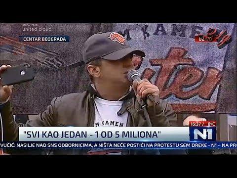 Sergej Trifunović  - ' On čovek  ne spava'.. CEO GOVOR NA  'Svi kao jedan – 1 od 5 miliona'