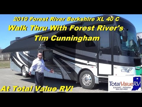 2019 Berkshire XL 40 C Sales Training With Tim From Forest River!