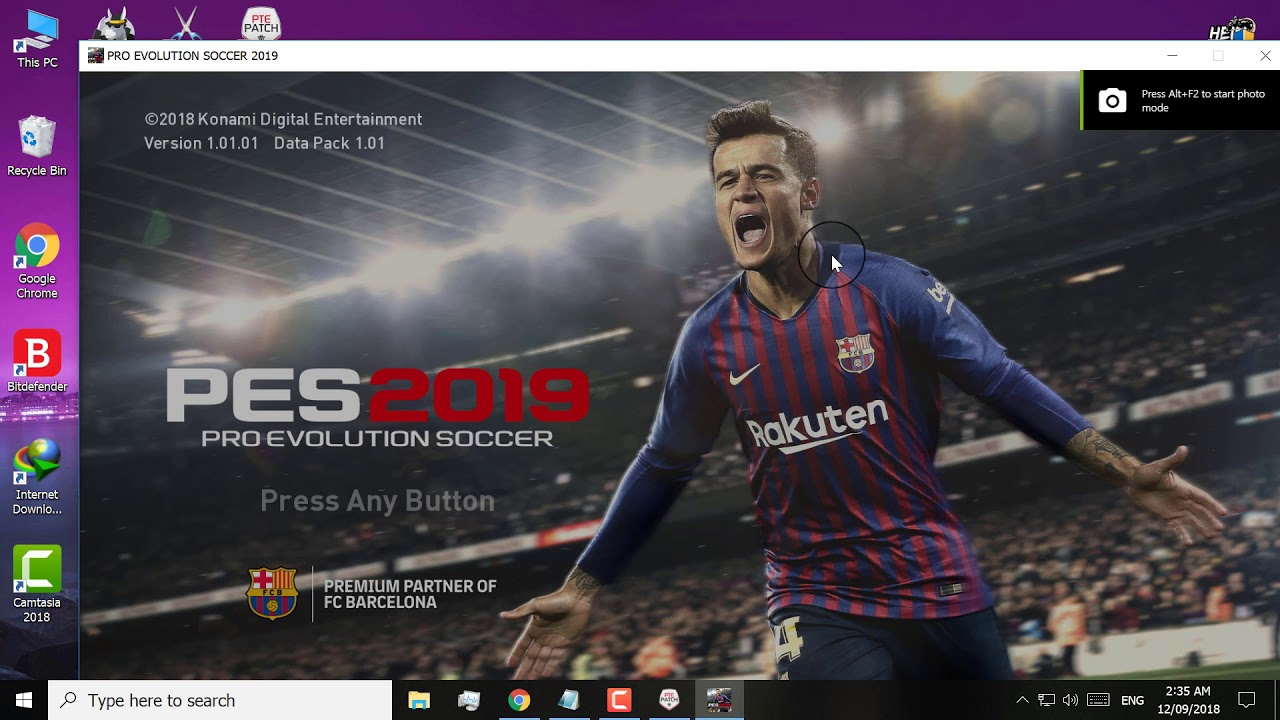 PES 2019 PTE Patch 1 0 AIO PC [Downloads]