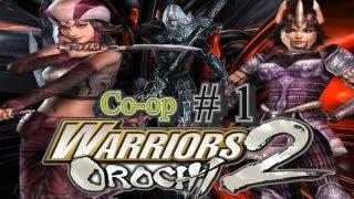 Rika & Rie Plays: Warriors Orochi 2 Part 1 [Shu Storyline]