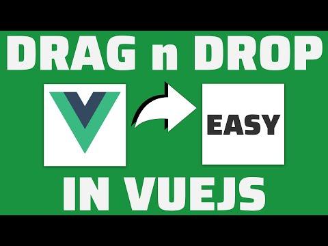 Easy VueJS Drag & Drop tutorial thumbnail