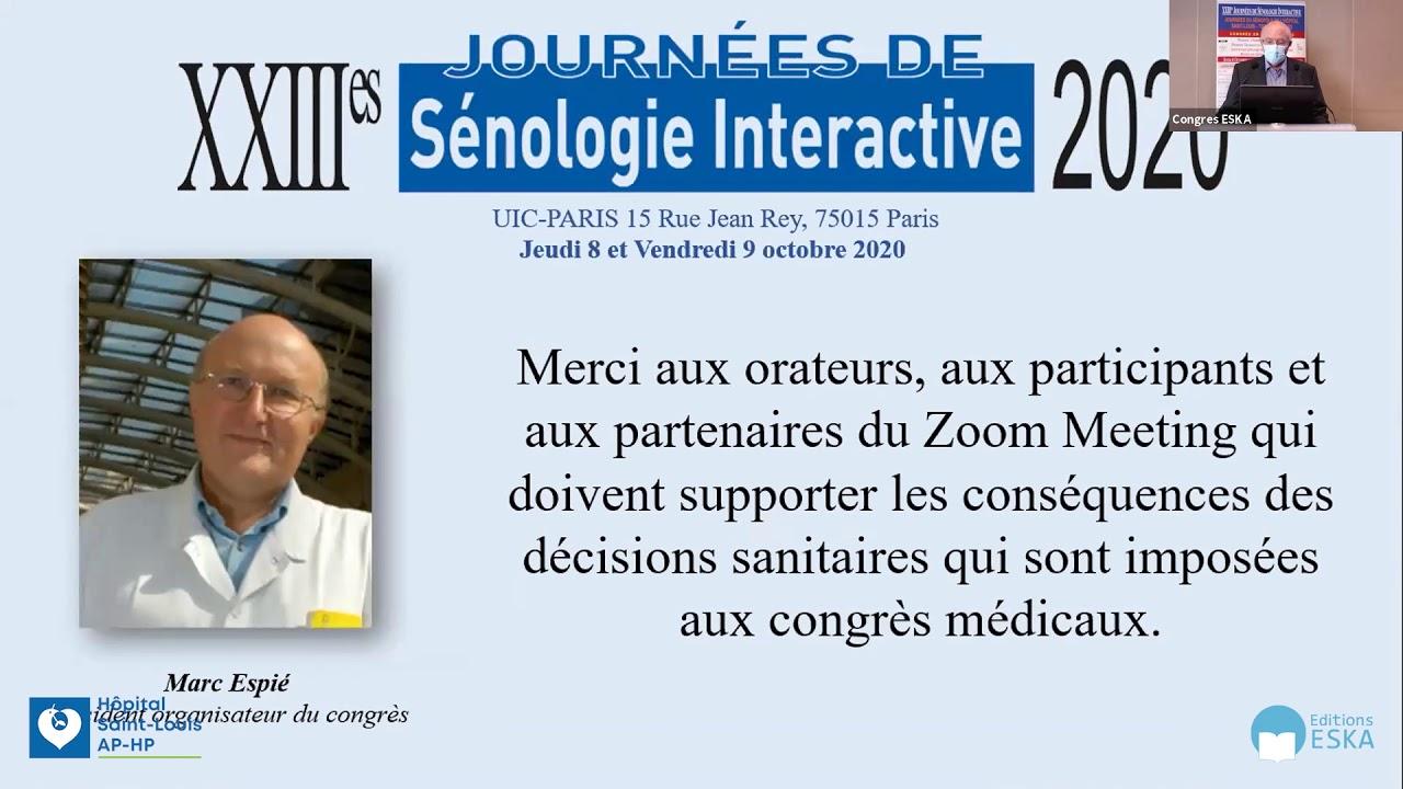 Introduction : Président du Congrès - Dr MARC Espié