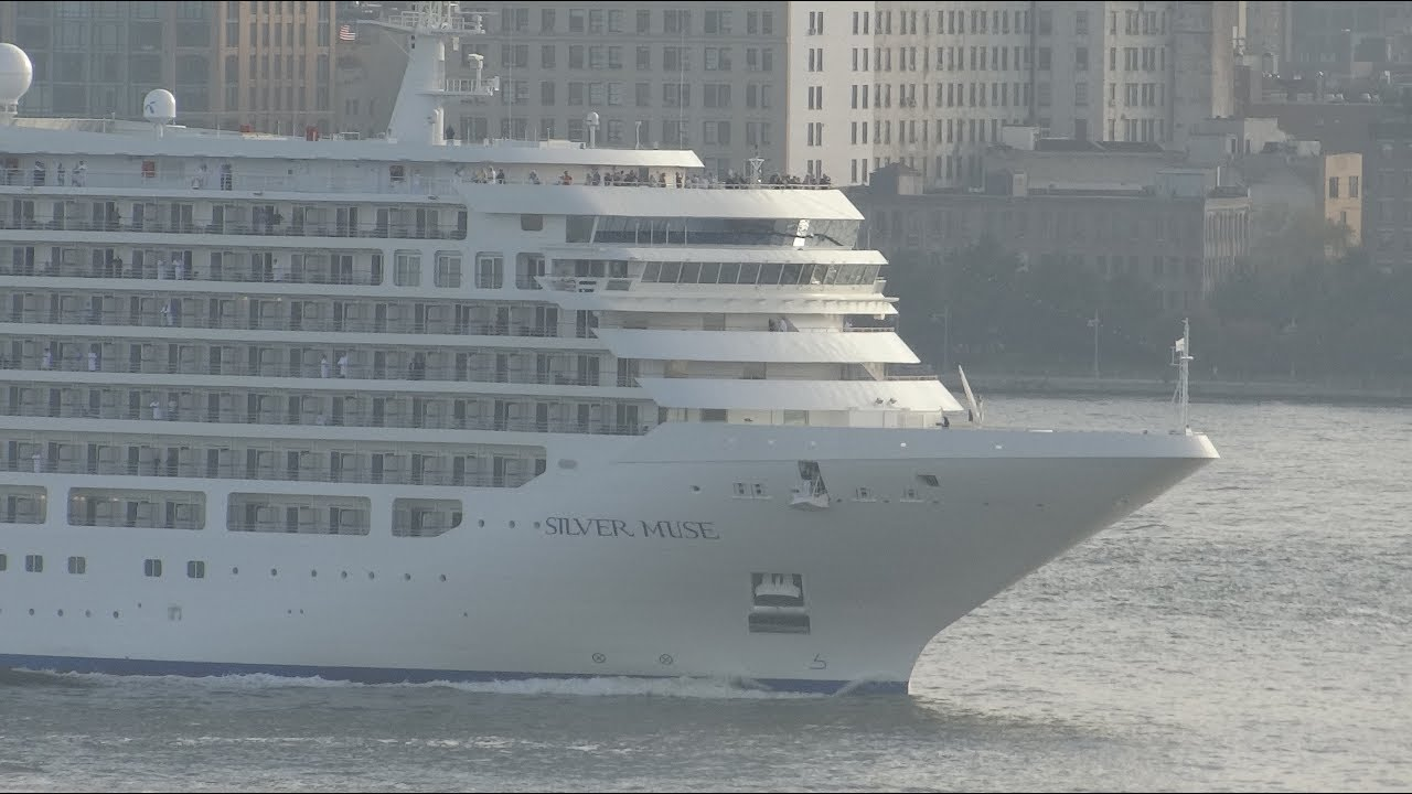 New York New York Silver Muse Departing New York City HD - Cruises departing from ny
