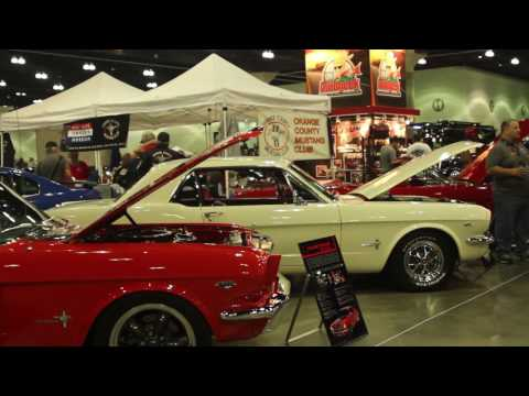 San Gabriel Valley Mustang Club at LA Classic Auto Show 2017