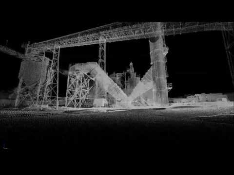Terrestrial LiDAR Mining Operation Fly-Through